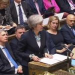 UK prime minister hangs on to job after party vote
