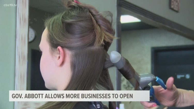 REOPENING TEXAS: Salons, barber shops can reopen May 8 ...