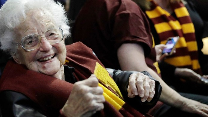 Sister Jean will go to Indianapolis to support Loyola-Chicago in March Madness