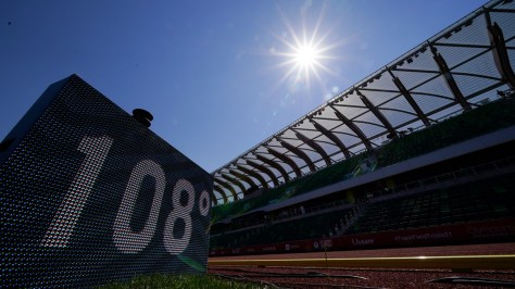 Too hot: Track trials come to a halt as temperatures soar