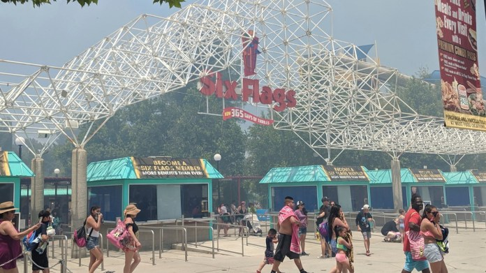 Six Flags Magic Mountain to reopen on April 1