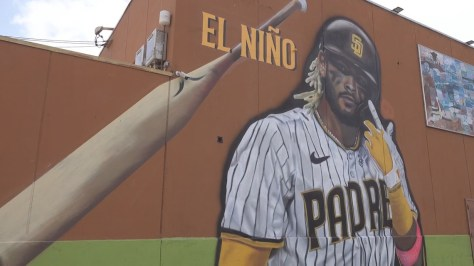 'Ground Floor Murals' making San Diego sports larger than life