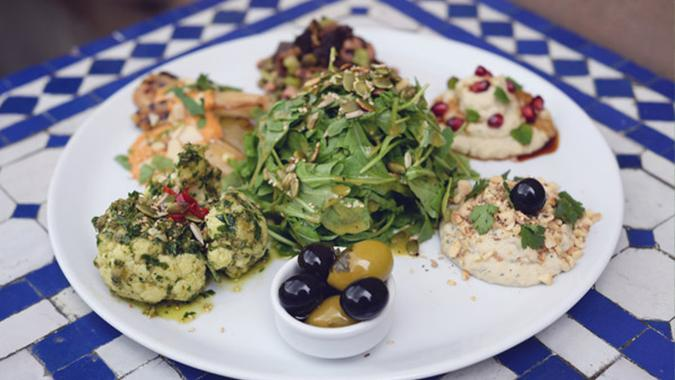 When the herbivore says they brought the hummus, always hoping it means this. Image - CCA Glasgow Website