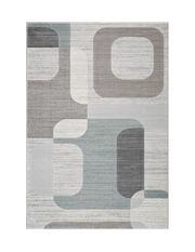 tapis salon rond design tapis shaggy