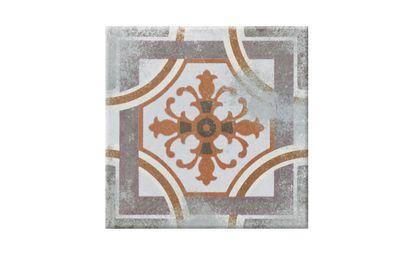 Carrelage Caro Used Aspect Carreau Ciment Decor Dim 20 X 20 Cm Saint Maclou
