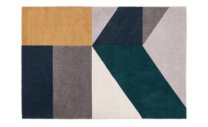 tapis quadri motif geometrique saint