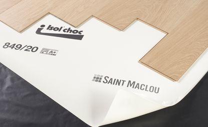 Sous Couche Isolchoc Pour Parquet Et Stratifie Ep 2mm 15m2 Saint Maclou