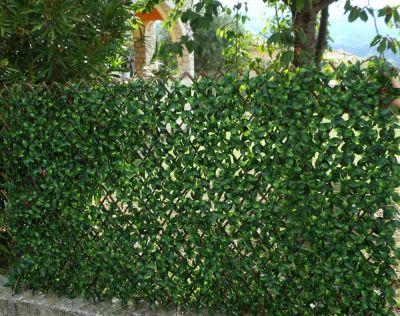 treillis brise vue feuilles artificielles