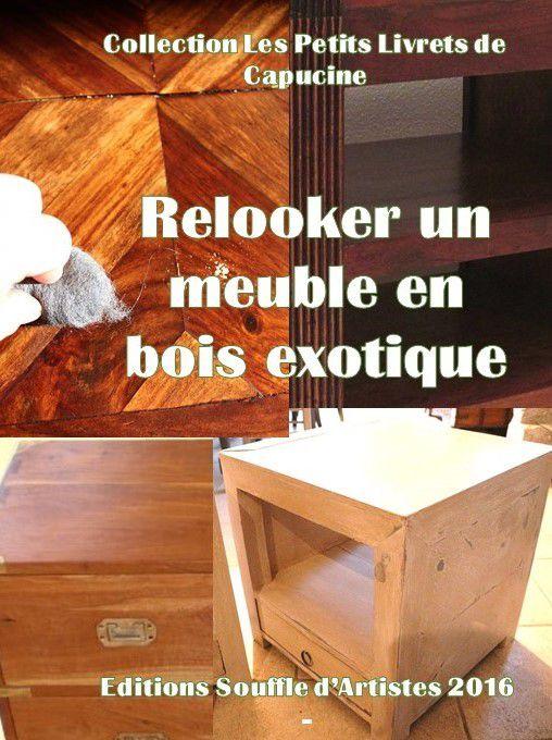 relooker un meuble en bois exotique