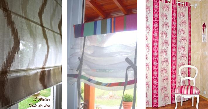 confection de rideaux sur mesures l