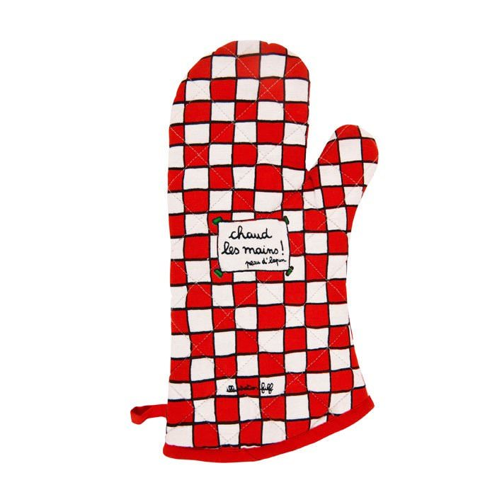 gant-coton-imprime-a-carreaux-chaud-les-mains-peau-d-lapin-filf-derriere-la-porte sur www.designfromparis.com
