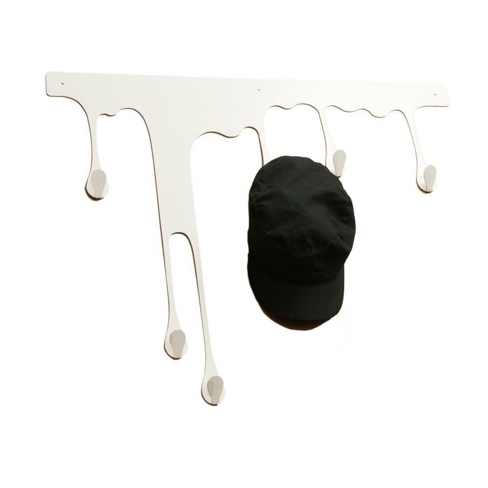 Porte manteau mural DROP XL - Blanc : 69.05€ sur DesignfromParis.com