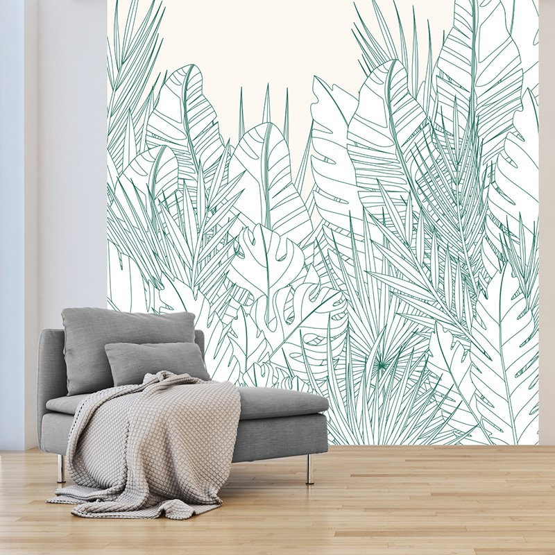 papier peint design
