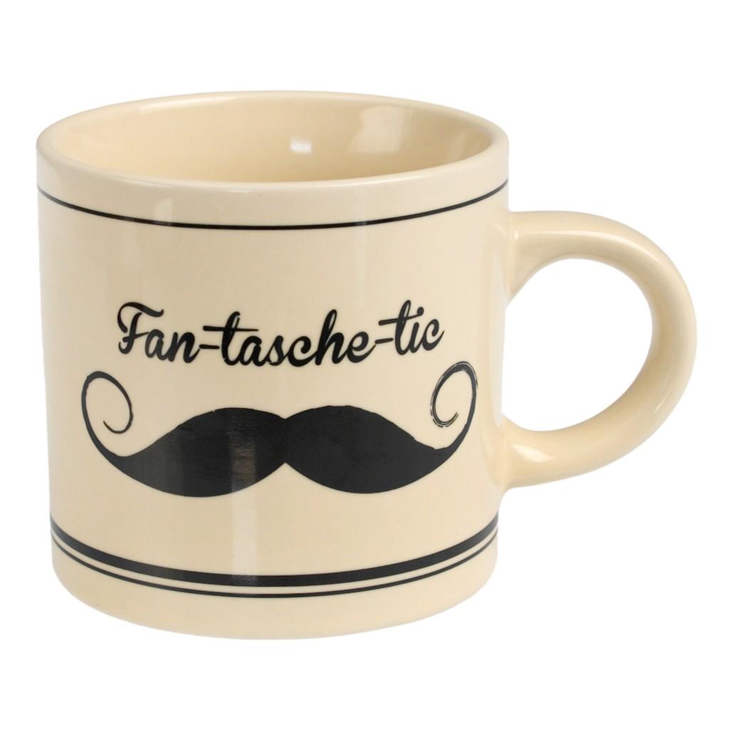 Mug Moustache - Fan - Tasche - Tic  Rex : 5.00€ sur DesignfromParis.com