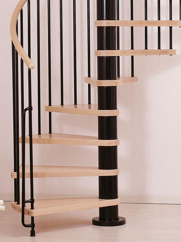 escalier helicoidal arke klan en acier