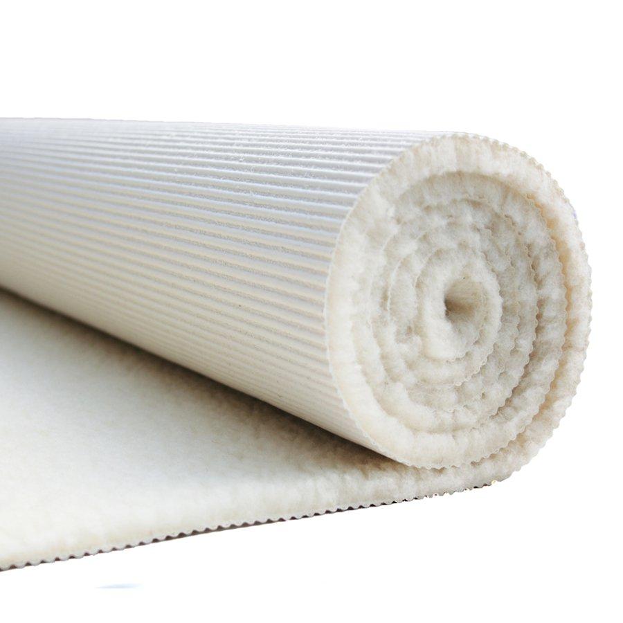 tapis de yoga et de meditation en laine vierge