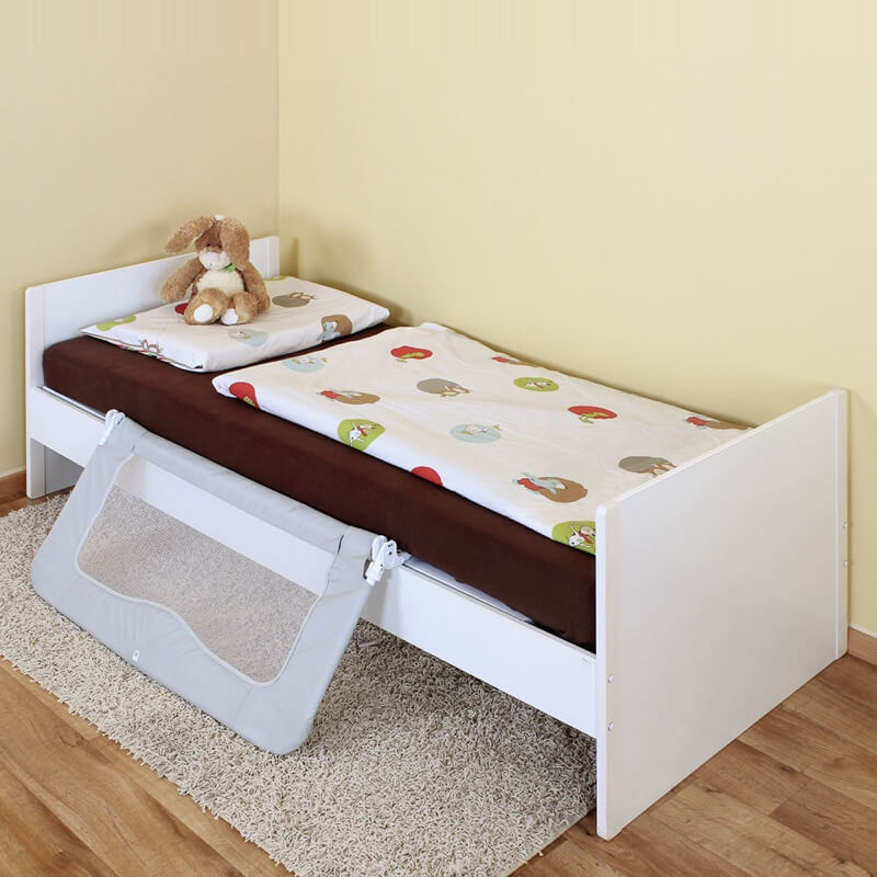 barriere de lit enfant xl rabattable