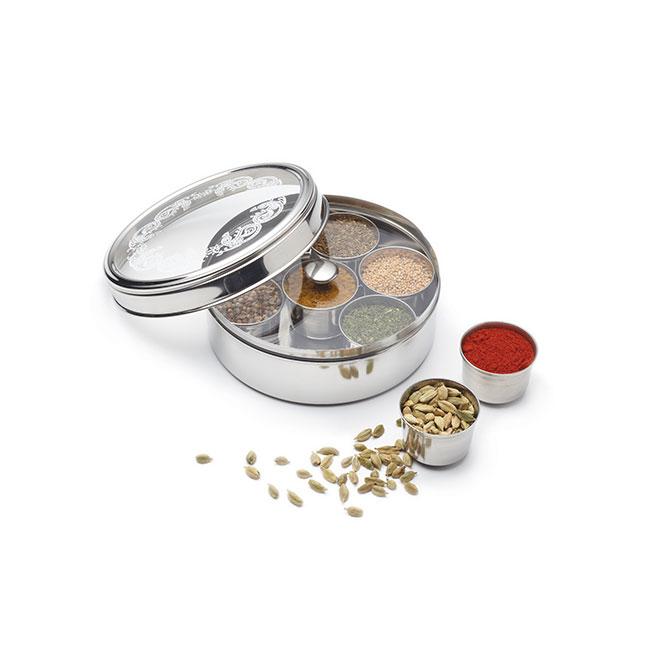 massala dabba boite a epices indienne les accessoires pour epices pots et rangement mesepices com