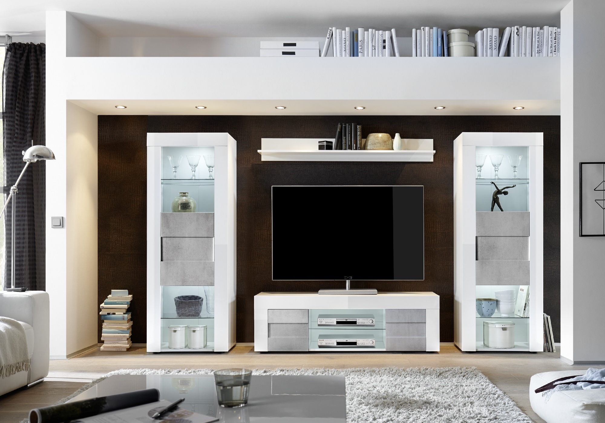 ensemble meuble tv beton cire easy i