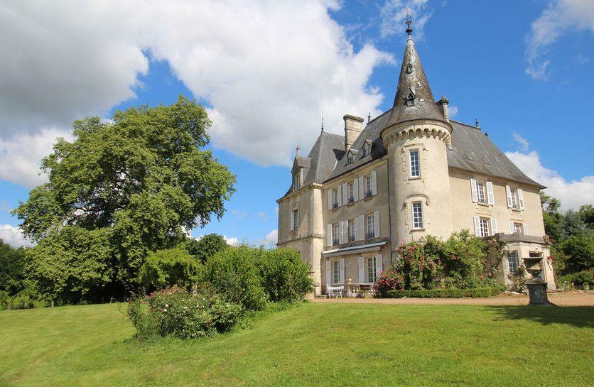 Château de la Chabroulie en Haute-Vienne