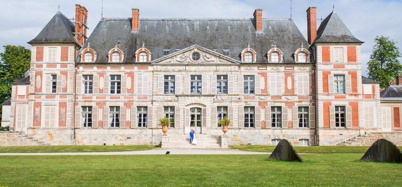 Façade principale du Domaine de Courson en Essonne pour célébrer un mariage