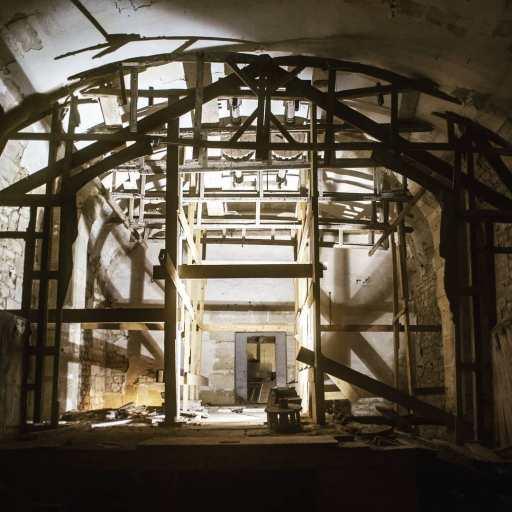 Le château de la Roche Guyon - le théâtre