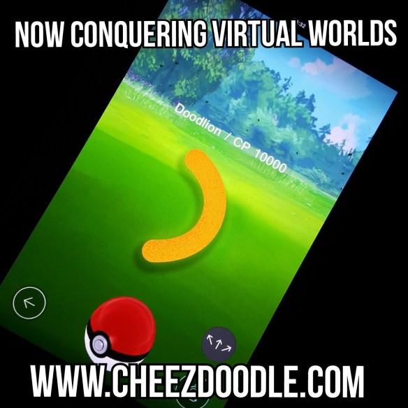 Cheez doodle pokemon go