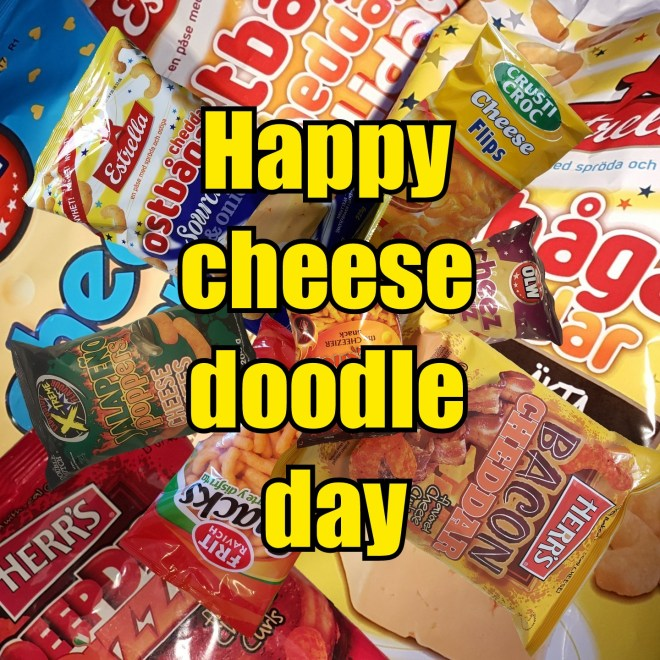 Cheez doodle day - cheese doodle day 2019