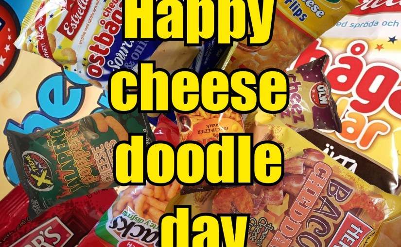 Cheez doodle day 2019