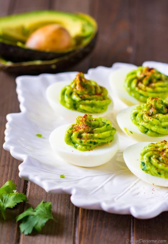 Easy Eggs Deviled Avocado