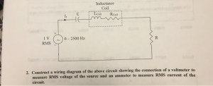 Solved: Construct A Wiring Diagram Of The Above Circuit Sh
