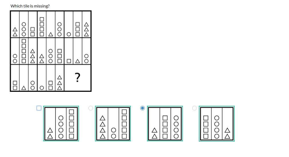solved which tile is missing 5