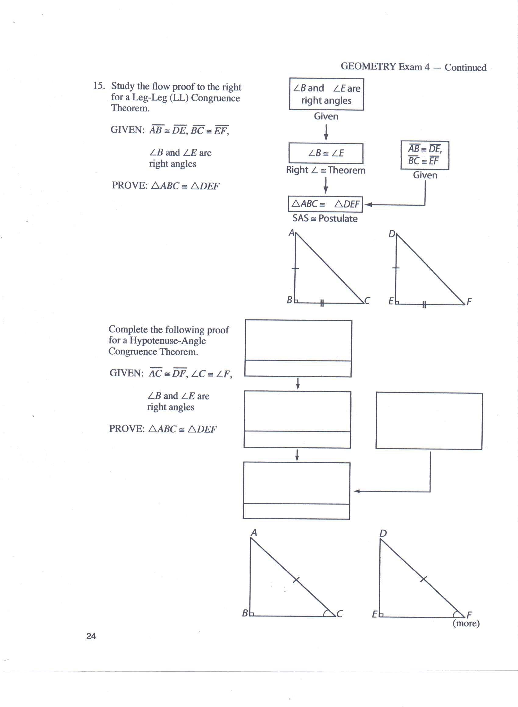 Geometry Homework Help Proofs Answers