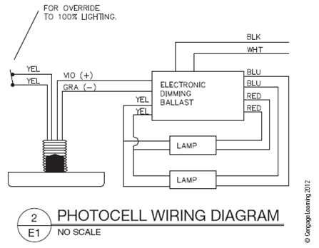photocell wiring diagram  chegg