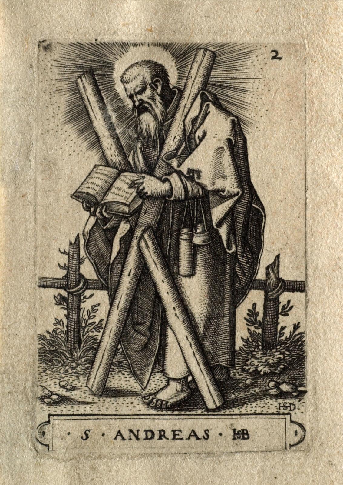 The Twelve Apostles Saint Andrew
