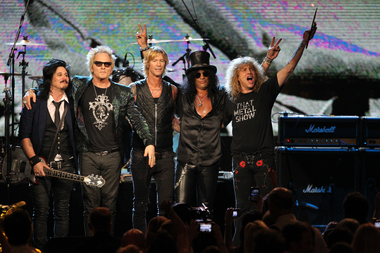 Guns N' Roses reunion tour imminent