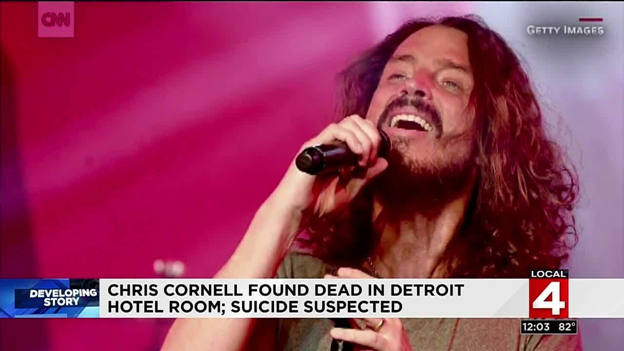 Rocker Chris Cornell Dies Following Show In Detroit Suicide