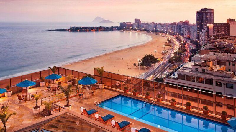 The JW Marriott in Rio de Janeiro is a category 5 hotel.
