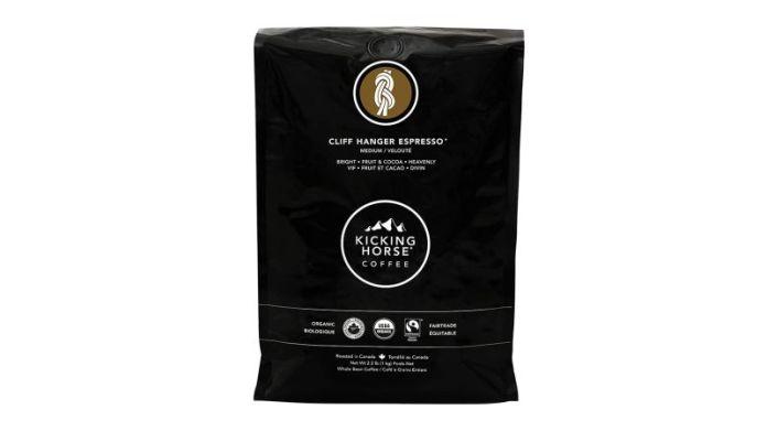 Kicking Horse Coffee, Cliff Hanger Espresso, Medium Roast, Whole Bean