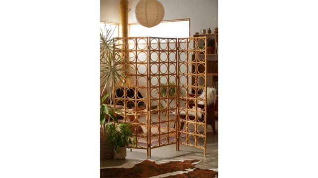 Tavi Rattan Room Divider