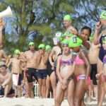 Open-water event a swimming success