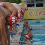 Stingray Swim Club dives into race season