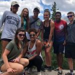 Cayman swimmers train in the mountains