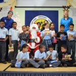 LIFE gives books to children for Christmas