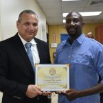 Immigration officer earns employee award