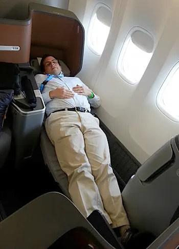 Photos Inside Lufthansa S New Business Class