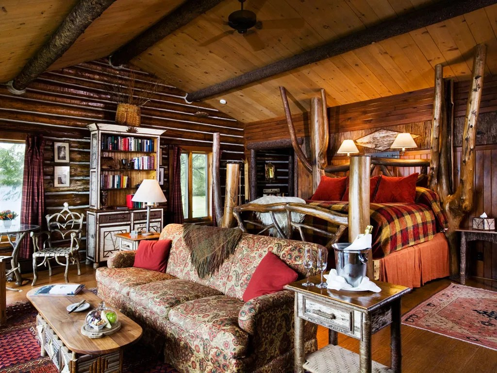 Vacation Idea: Cozy Up In Log Cabins That Aren't Rustic At