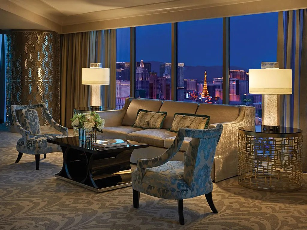 The Most Expensive Suites At Vegas's Top Hotels