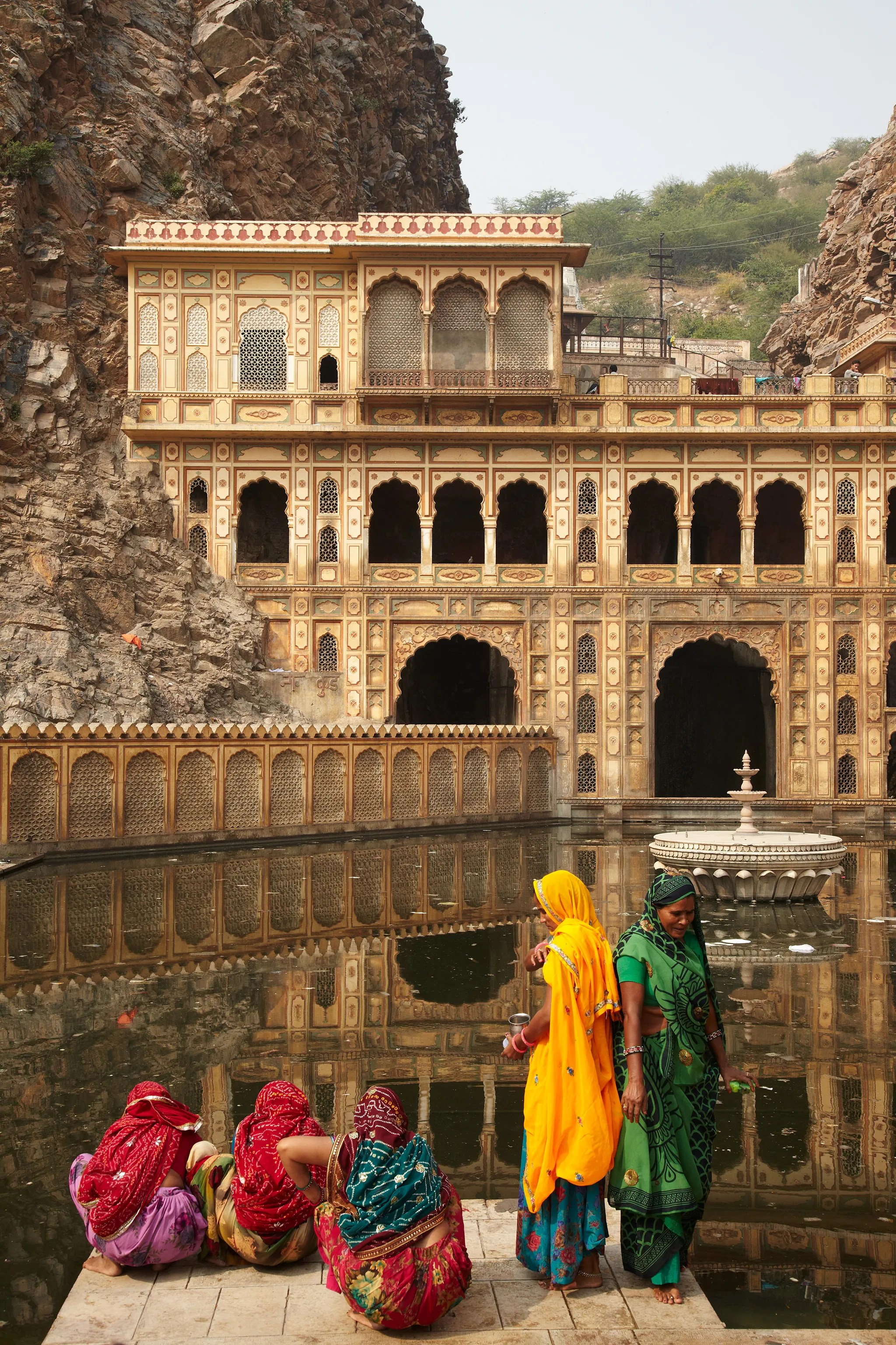 Photos In Jaipur India Bright Colors Are A Way Of Life