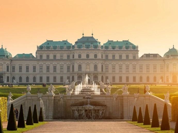 melhores cidades da Europa para visitar viena